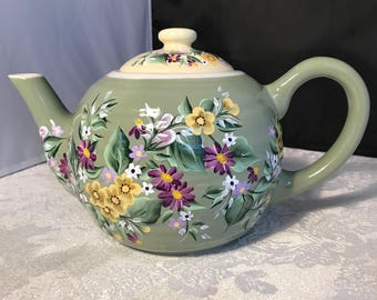 Lovely Hand Painted Teapot