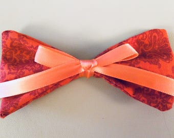 The Red Lion Hair Bow