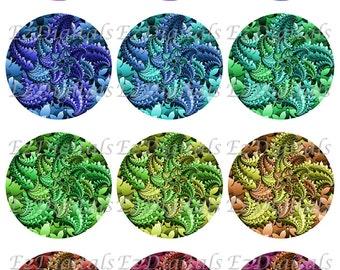 Cabochon collage sheet, fractal cabochon, abstract cabochon, printable, digital download, jpeg,