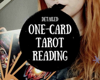 One Card Tarot Reading / Tarot / Divination / Tarot Cards / Fortune Telling / Divining / Witchcraft / Witches / Spiritual / Spirituality
