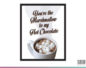 PRINTABLE / Hot chocolate