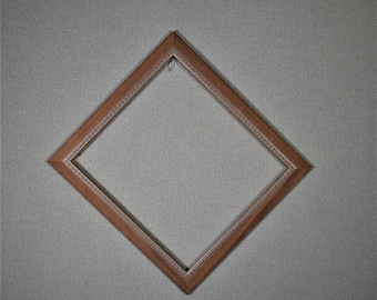 10x11 Frame Pecan Wood with Optional Glass and Matting Complete Kit