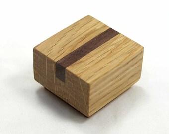 Wood Cabinet Knob, Arts & Crafts Knob, Cabinet Hardware, Craftsman Style Furniture Knob, Furniture Hardware