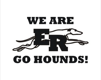 We Are ER decal