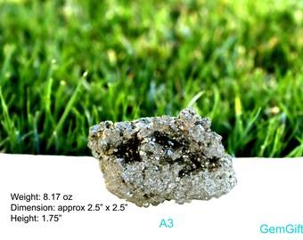 Large Pyrite Cluster- Natural Pyrite Specimen -Fools gold cluster- natural gemstone - home decoration- protection stone - July birthstone