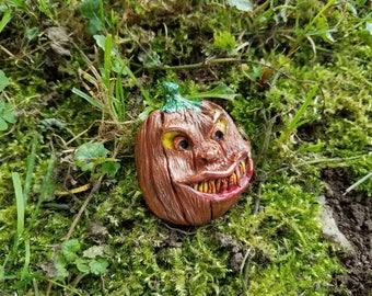 Creepy Jack O'lantern Magnet - Halloween Decor