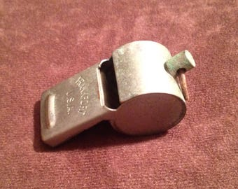 Vintage Frankfort Metal Whistle