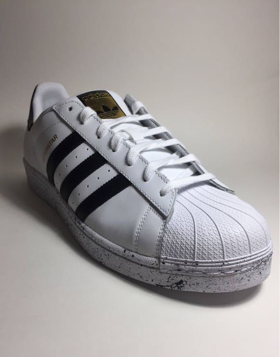 Gs Adidas Superstar 20 Shoes Discount Payment White Black