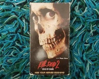 Evil Dead 2 Dead By Dawn VHS
