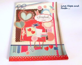 Scrapbooking notebook with 32 pages to solid (29x38cm)
