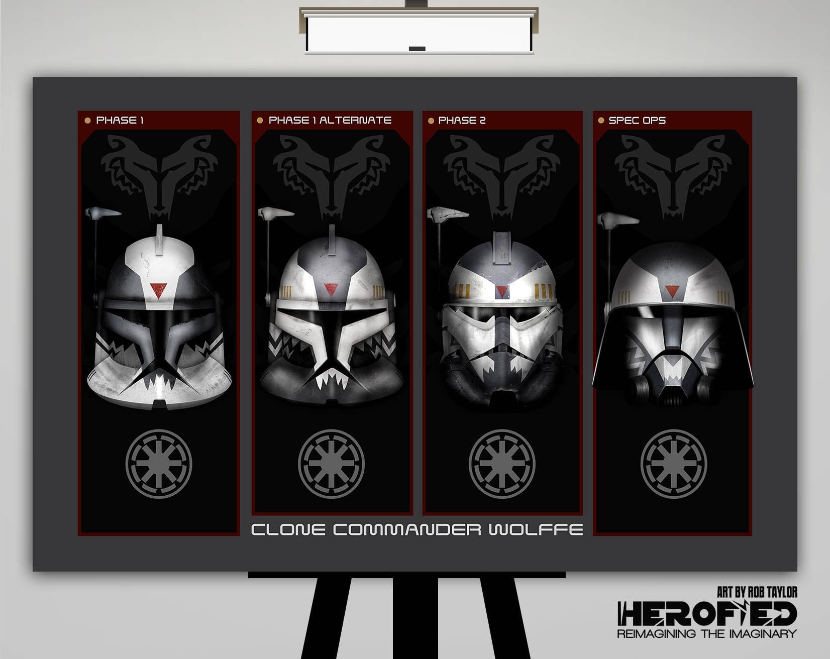 Star Wars inspiriert Klon-Kommandant Wolffe