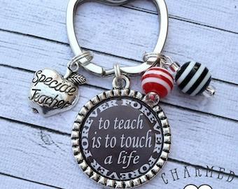 Teacher Keychain/Teachers Keyring/Teacher Appreciation Gift/Gift For Teacher