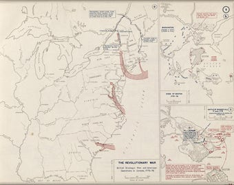 Poster, Many Sizes Available; Map Of Revolutionary War Boston, 1775-1776