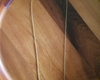 Blue and Gold Weight Pendant Necklace