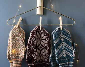 Hermine Colorwork Mittens (knitting pattern)