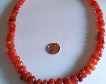 Carnelians Bead Necklace