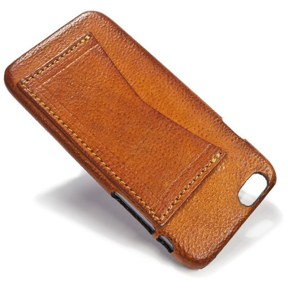 """NEW iPhone 8 or 7  display 4.7"""" Leather Case with 1 credit card holder horizontal Slot choose the color of BODY and ACCENT"""