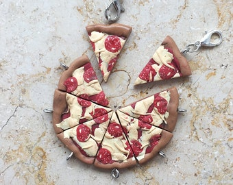 Pizza Slice Keycharm/Charme/Earring