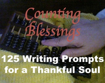 Gratitude Journal, Printable Journal Prompts, Counting Blessings Ebook, Digital Lined Spiritual Journal