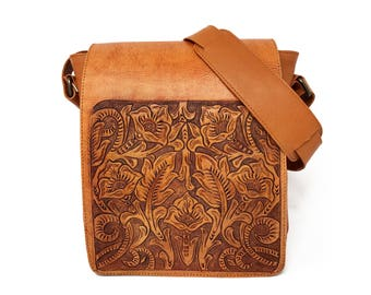 Leather should bag, womens messenger bag, small shoulder bag, shoulder bag purse, cross body bag, vintage shoulder bag, cross body leather
