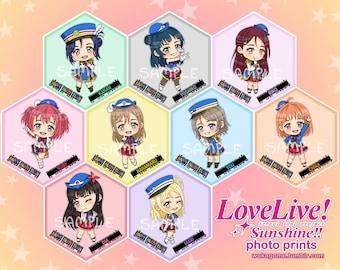 Love Live Sunshine Anime Photo Prints