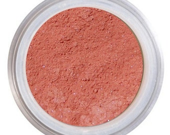 Blush Makeup, ROSEMARY, Loose Mineral Blush, Natural Blush, Rose Blush, Mineral Blush, NARS Orgasm, Vegan Blush, Cruelty Free