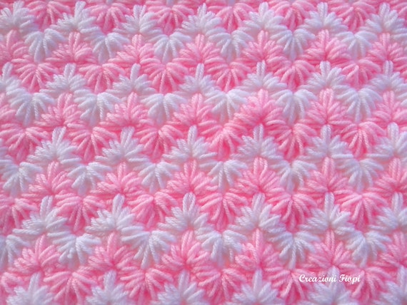 Crochet pattern baby blanketcrochet zig zag puff stitch crochet pattern baby blanketcrochet zig zag puff stitch tutorial crochet zigzag blanket pattern 808 permission to sell finished items dt1010fo