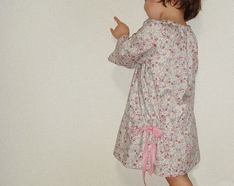 PDF Sewing Pattern - Smock dress for 5Y - Baby and kids