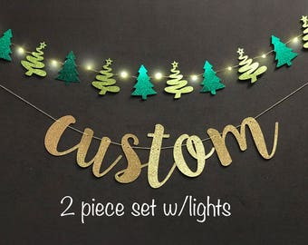Merry Christmas Banner , Custom Banner, happy holiday banners, custom banner, holiday banners, Be Merry Banner, Joyful Banner, Glitter Banne