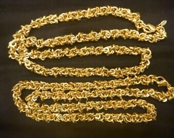 """Vintage 2 20"""" GOLD MONET CHAIN Necklaces"""