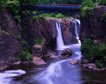 Paterson Great Falls Waterfall