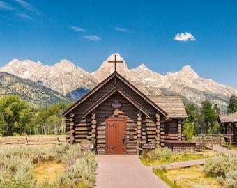 Nature Photography - Chapel of the Transfiguration - Grand Teton National Park