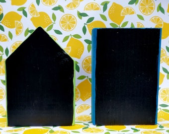 Chalkboard Building Blocks/Chalk Blocks/Chalkboard Town Blocks/Write On Blocks/City Blocks/ChalkPaint blocks/town blocks/wood toy/chalk sign