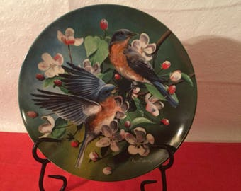 Vintage Edwin M. Knowles china plate