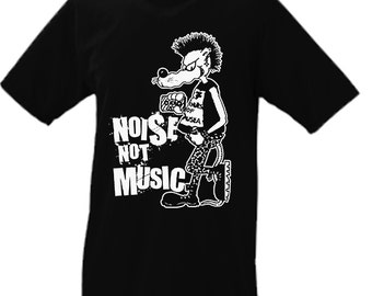 Noise Not Music Tshirt