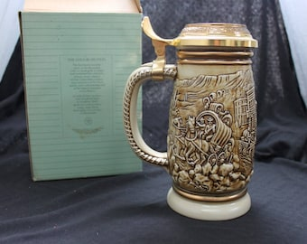 Avon Gold Rush Beer Stein with Box