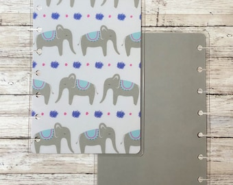 Elephant Mini Happy Planner Cover