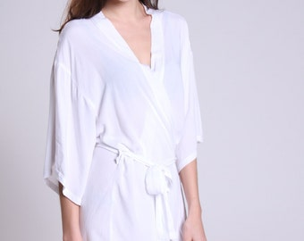 bride robes bathroom robe his and hers bathrobes Not silk robes for men custom robes spa bathrobes bathrobe white silk robe SM002