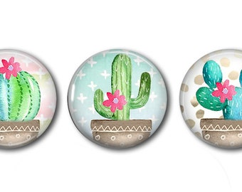 CaCtUs Three Pack of Snaps - Pair with our Base Pieces - Compatiable with GingerSnaps and Magnolia and Vine Pieces - Hand Pressed Snaps