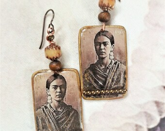 Antique earrings FRIDA