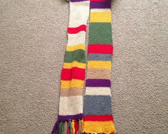 Doctor Who Osgood Scarf