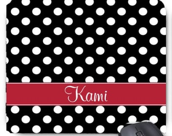 Personalized Monogram Mousepad  CREATE Your Own!