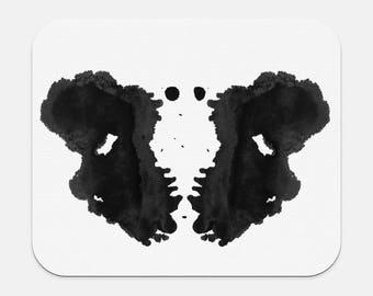 L'encre tache Rorschach de tapis de souris Art thérapeute Bureau Decor
