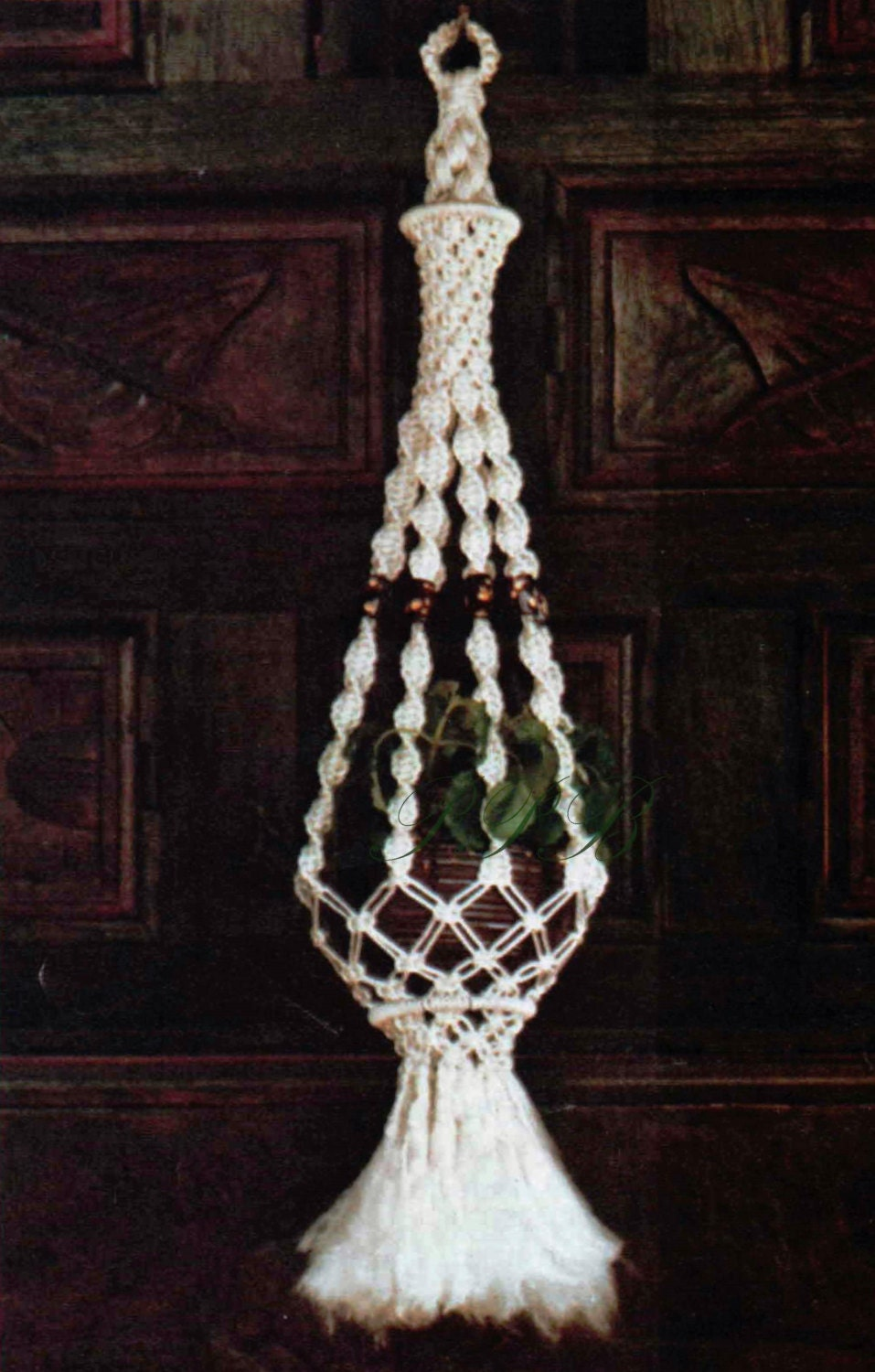Macrame Plant Hanger ... Macrame Single Planter Hanger ... Home ...