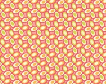 Jelly Bean in Watermelon - Freshcut by Heather Bailey for Free Spirit ~ 100% Cotton BTY - PWHB029 - cotton quilting fabric - HALF YARD cut