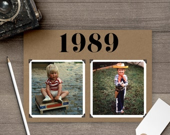 Wedding Table Numbers with Photo, 5x7, Wedding Table Numbers, Old Pictures tn0024