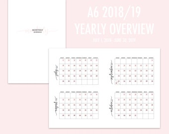 A6 TN Yearly Overview 2018/19 (Jul-Jun) PINK