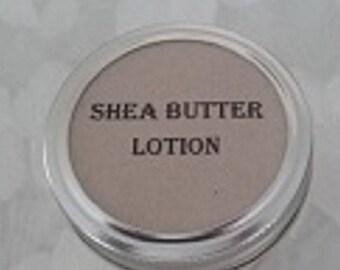 Shea butter lotion