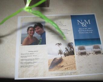 Oceans- Destination Wedding Brochures