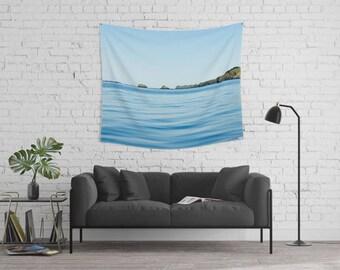 Modern Tapestry Wall Decor | Textile Wall Art Decor | Tapestry Wall Hanging | Nature Tapestry | Simple Tapestry Wall Decor | Spring Tapestry
